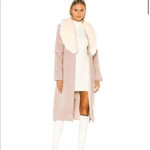 Majorelle Milford coat in Tan Almond - LIKE NEW